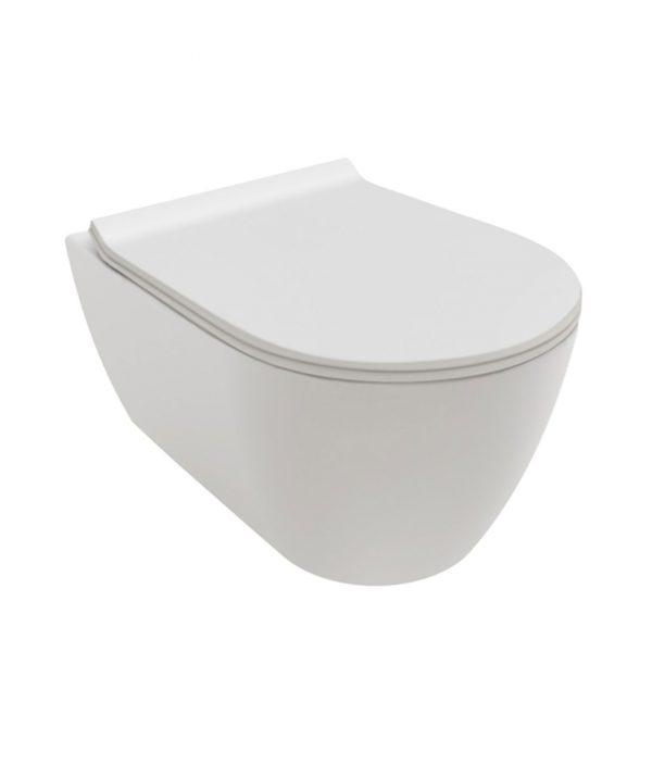Cara Wand-Tiefspül-WC weiss